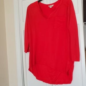 Lucky brand ladies blouse size Large